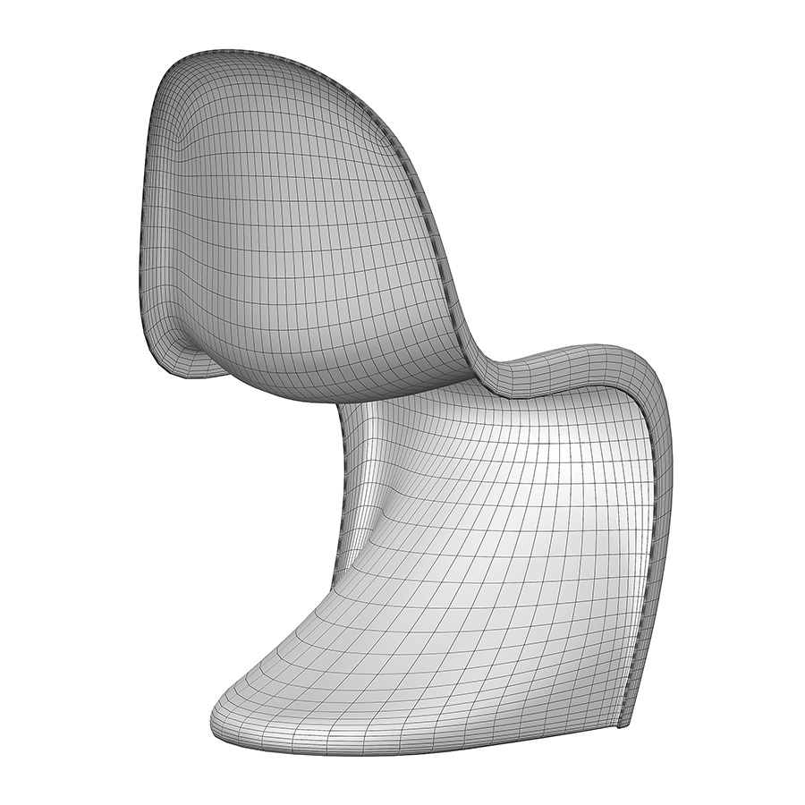 Vitra Panton Chair Free 3d Model