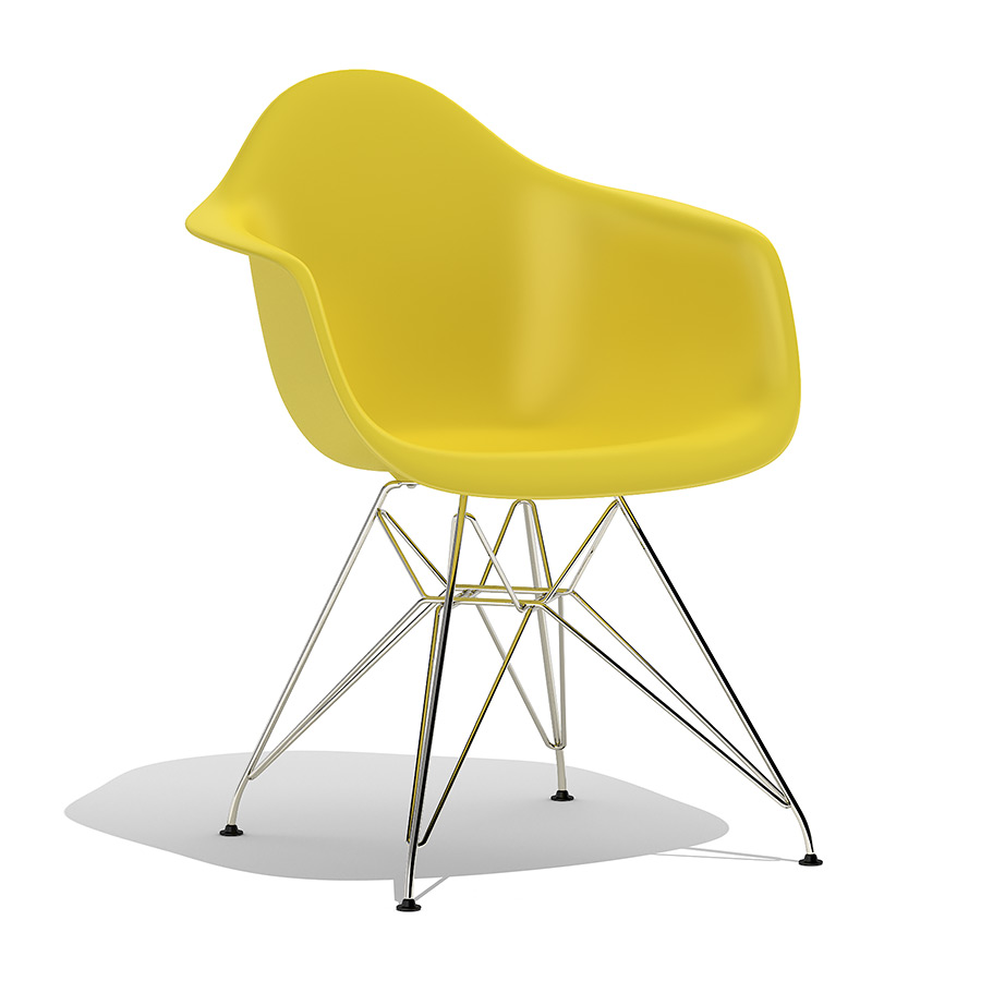 Eames Chair Dar Eames Plastic Armchair Dar 3d Model