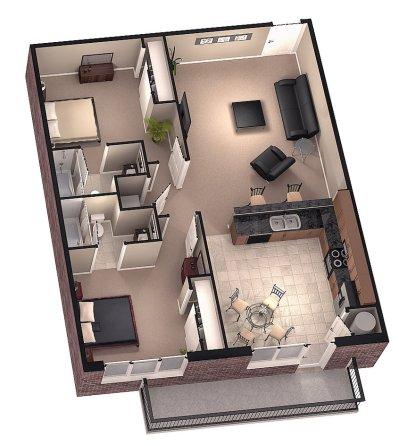Excellent 3D Floorplan Designs | Model Rendering