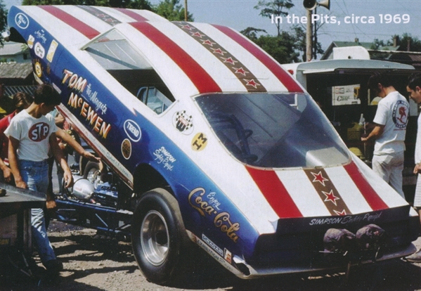 "Car Manufacturers With I Tom ""mongoose"" Mcewen 1969 Barracuda Funny Car 1 25 Fs"