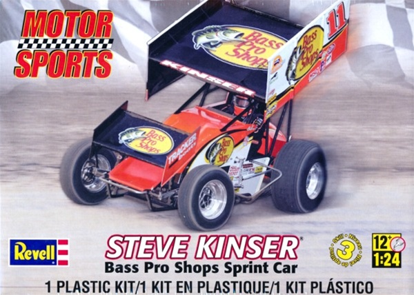 Car Manufacturers Performance Divisions Steve Kinser 11 Bass Pro Shops Sprint Car 1 24 Fs