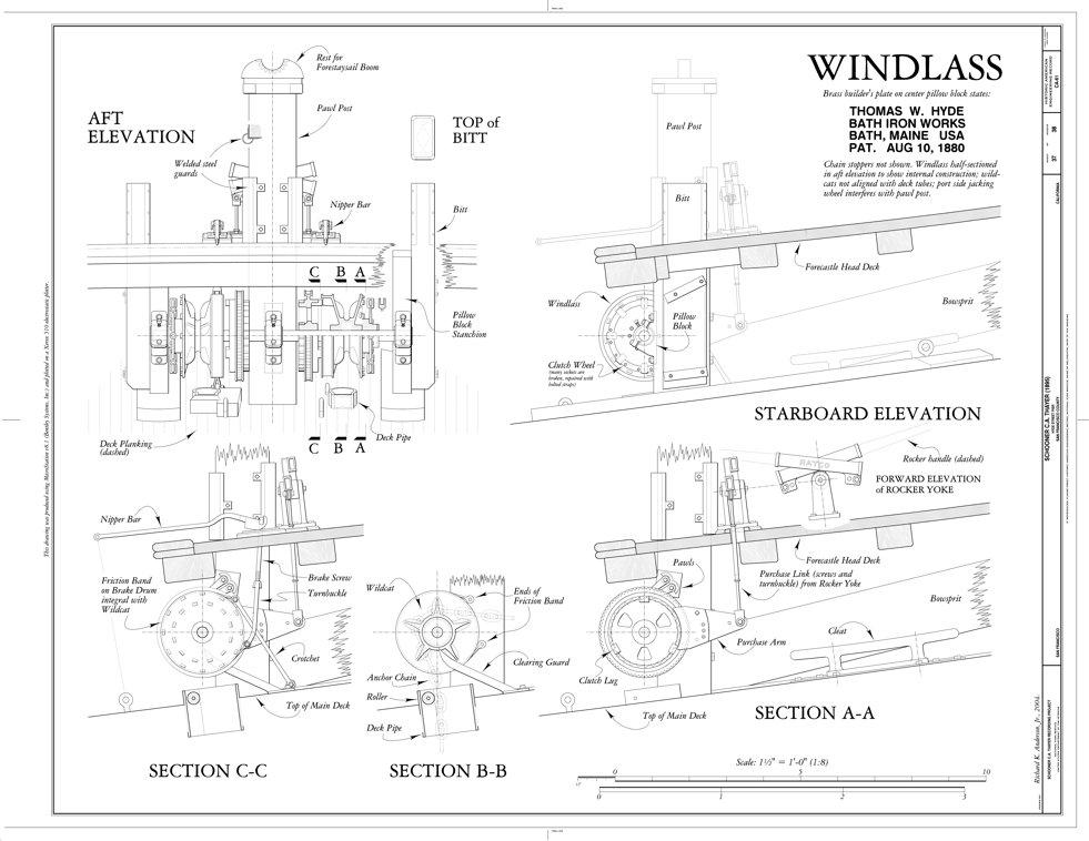 good windlass diagram