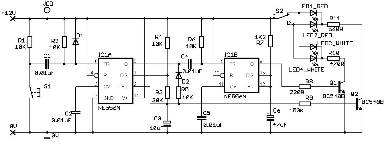 bi colour led circuit