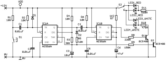 uss enterprise led circuit design