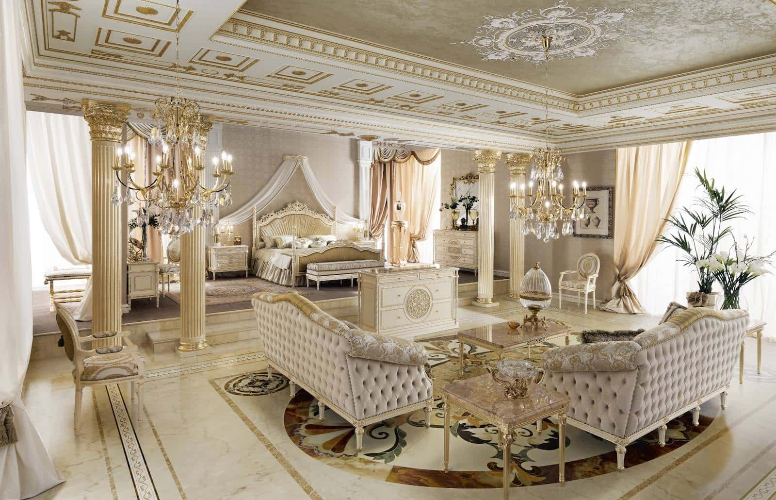 Luxury Classic Furniture Made In Italy Handmade Interiors Modenese Luxury Interiors Italian Furniture Manufacturer Exclusive Interior Design Service