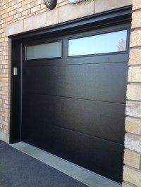 Modern Fiberglass Garage Doors-Modern Garage door with ...