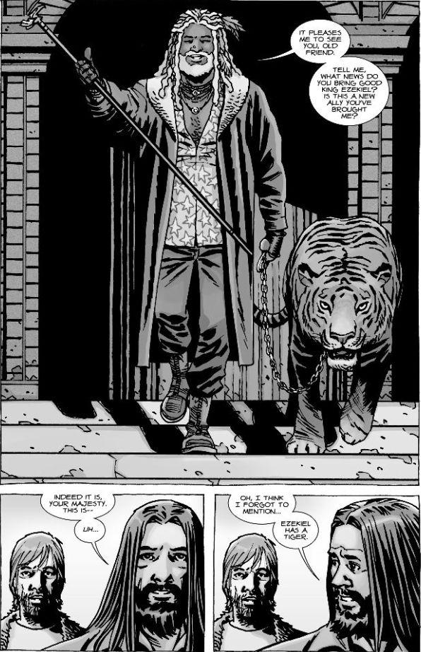 the walking dead tiger Modern Borefare