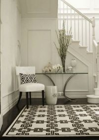 10 Foyer Decorating Ideas with Modern Chairs