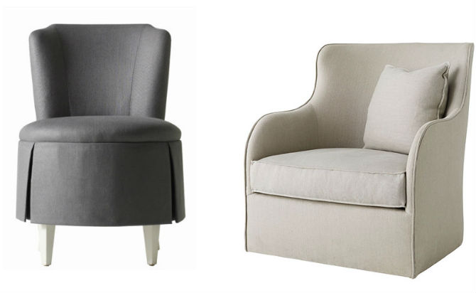 Top 10 Swivel Chairs for the Living Room by Elle Decor - swivel chairs living room
