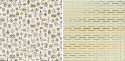 Wallpaper is back with a vengeance! • Modern Charlotte, NC Homes For Sale | Mid-Century Modern ...