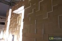 Modern Design mdf 3D Wall Panel Led 3dwalldecor, Led ...
