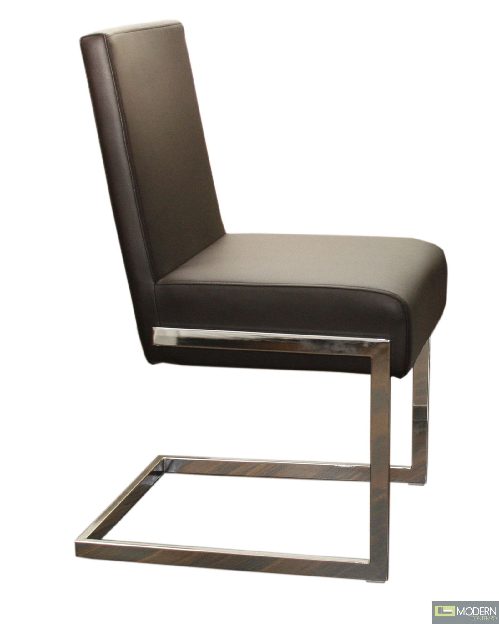 Modern Chair Furniture Fontana Modern Leather Dining Chair
