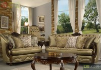 Elegant Traditional Formal Living Room Furniture ...