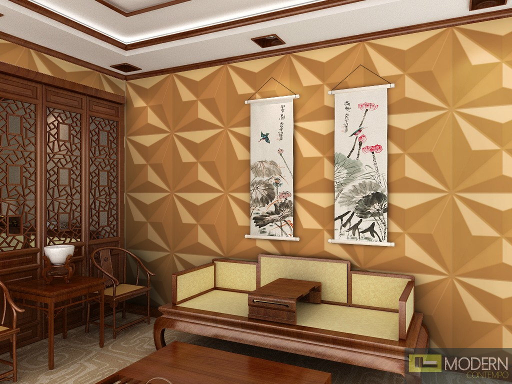 Jual Wallpaper Dinding 3d Star Exterior And Interior Glue On Wall 3d Surface Panel