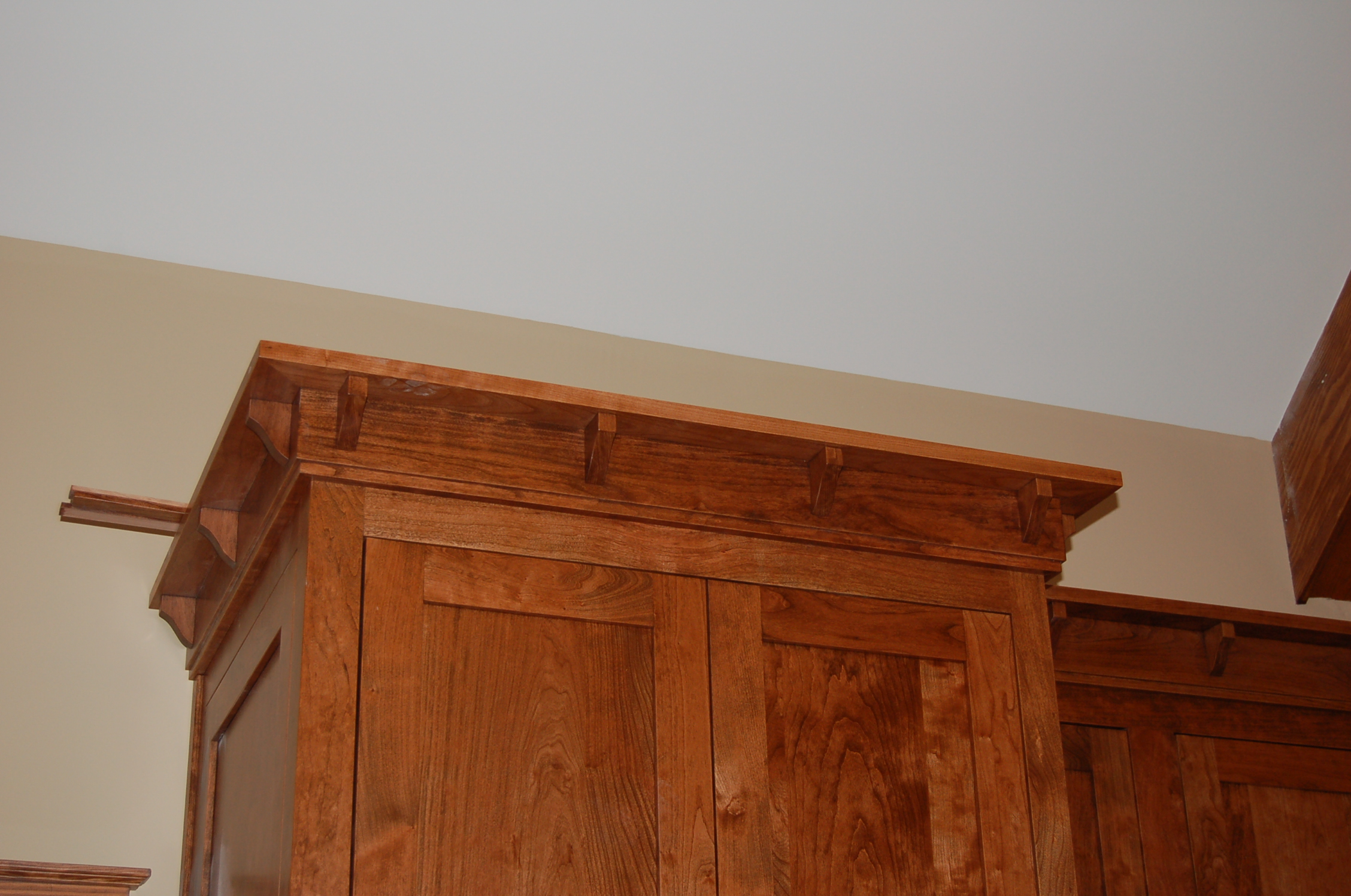 Types Of Crown Molding For Kitchen Cabinets Dsc 0013 Modern Craftsman Style Home