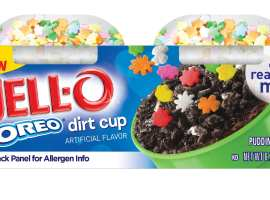 JELL-O with Mix ins Oreo Dirt Cup