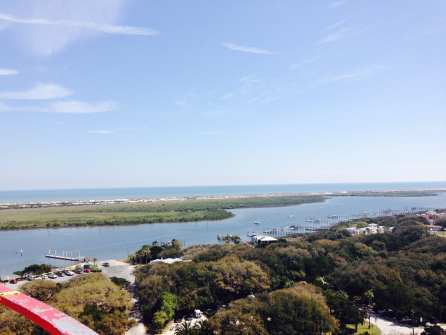 View From Top of Lighthouse