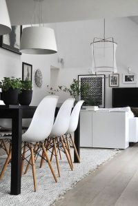 10 Modern Black and White Dining Room Sets That Will ...