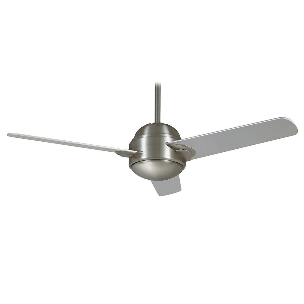 Propeller Ceiling Fan Casablanca Trident 59083 54 In. Brushed Nickel Modern