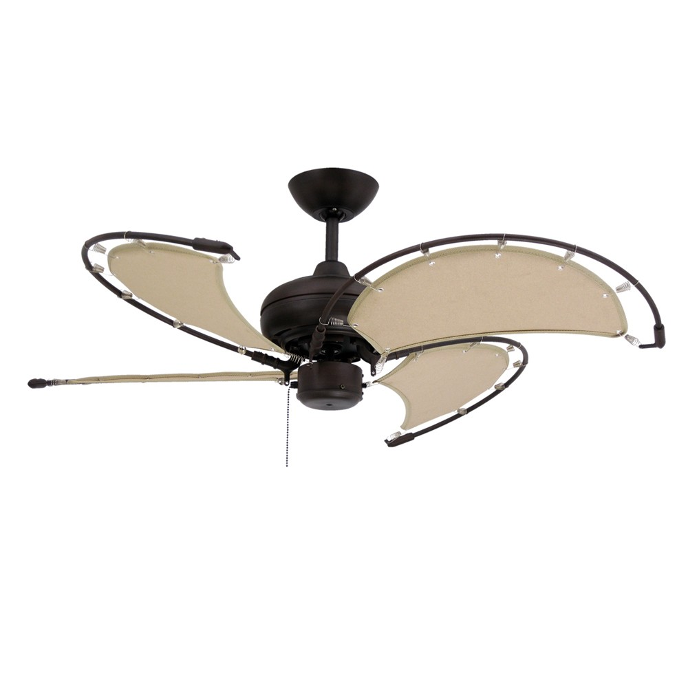 Boat Ceiling Fan Nautical Ceiling Fans Maritime Fans With Sail Blades For Coastal