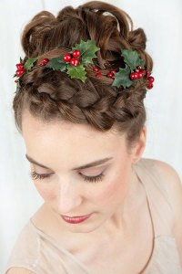 15+ Creative Christmas Themed Hairstyle Ideas 2015 | Xmas ...