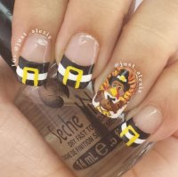 25+ Inspiring & Easy Thanksgiving Nail Art Designs, Ideas ...