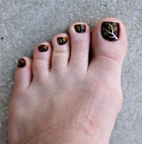 Autumn / Fall Toe Nail Art Designs, Ideas, Trends ...