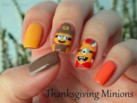 20+ Thanksgiving Nail Art Designs & Ideas 2016 | Modern ...