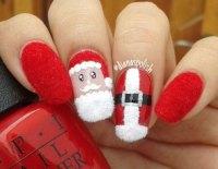 18 Christmas Santa Nail Art Designs & Ideas 2017 | Xmas ...