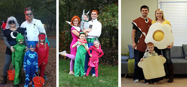 15 Creative Group Halloween Costume Ideas For Kids Girls