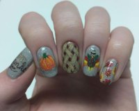 Thanksgiving Nail Art Designs & Ideas 2018 | Modern ...