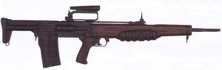 Enfield EM-2 / Rifle, Automatic, caliber 280, Number 9 Mark 1