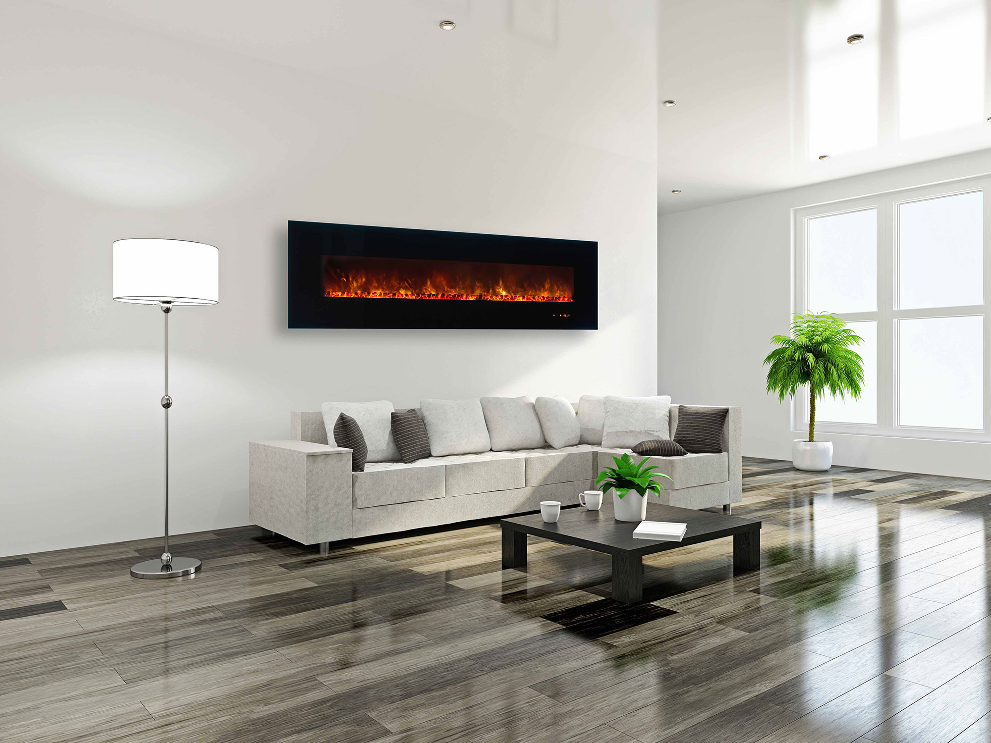 Electric Fireplace.com Electric Fireplaces Modern Fireplaces Modern Flames