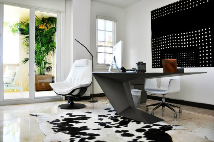 COLOR SCHEMES and HOME OFFICE IDEAS Modern Home Decor - modern home office ideas