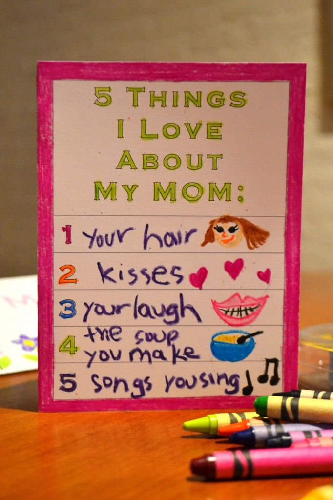 Mother\u0027s Day Cards Kids Can Make - Modern Homeschool Family
