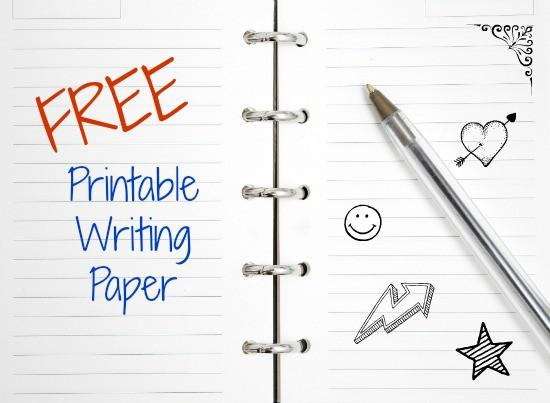 Free Printable Writing Paper - Modern Homeschool Family