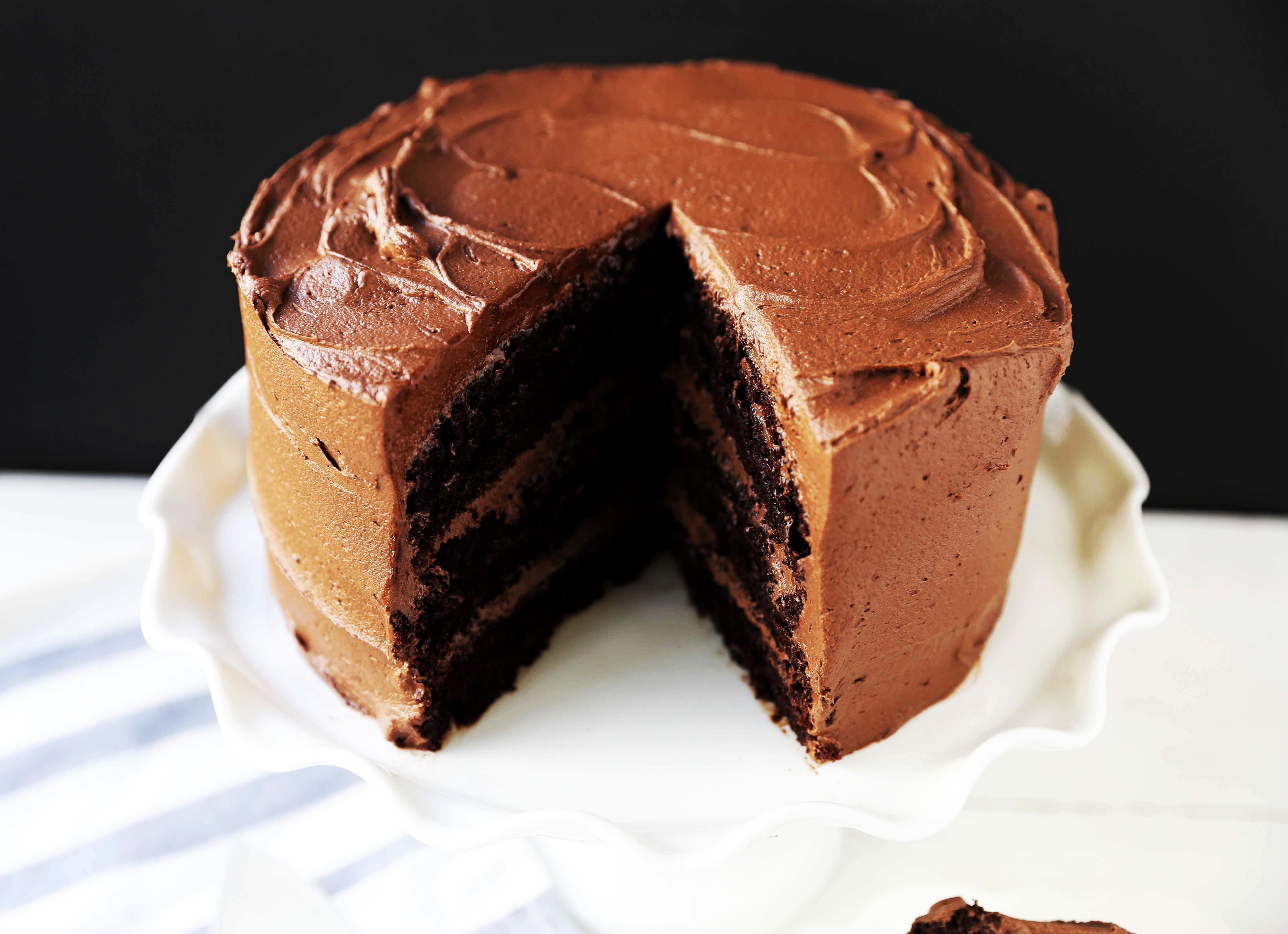 Baking Cakes Love At First Sight Chocolate Cake