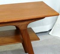 1950's Danish Modern Teak Coffee Table   Modernism