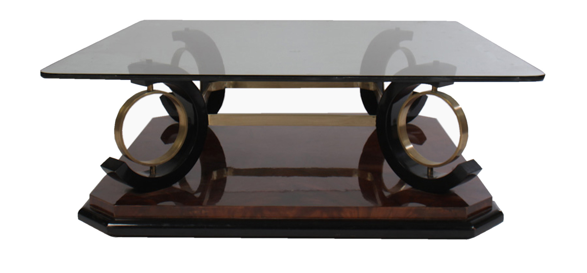 Modern Glass Table Italian Mid Century Modern Coffee Table Having Glass Top