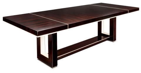 Dakota Jackson Custom Grand Extended Dining Table Modernism