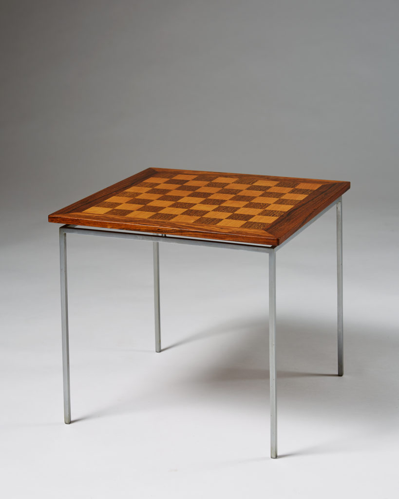 Chess Table Chess Table Designed By Knud Joos Modernity