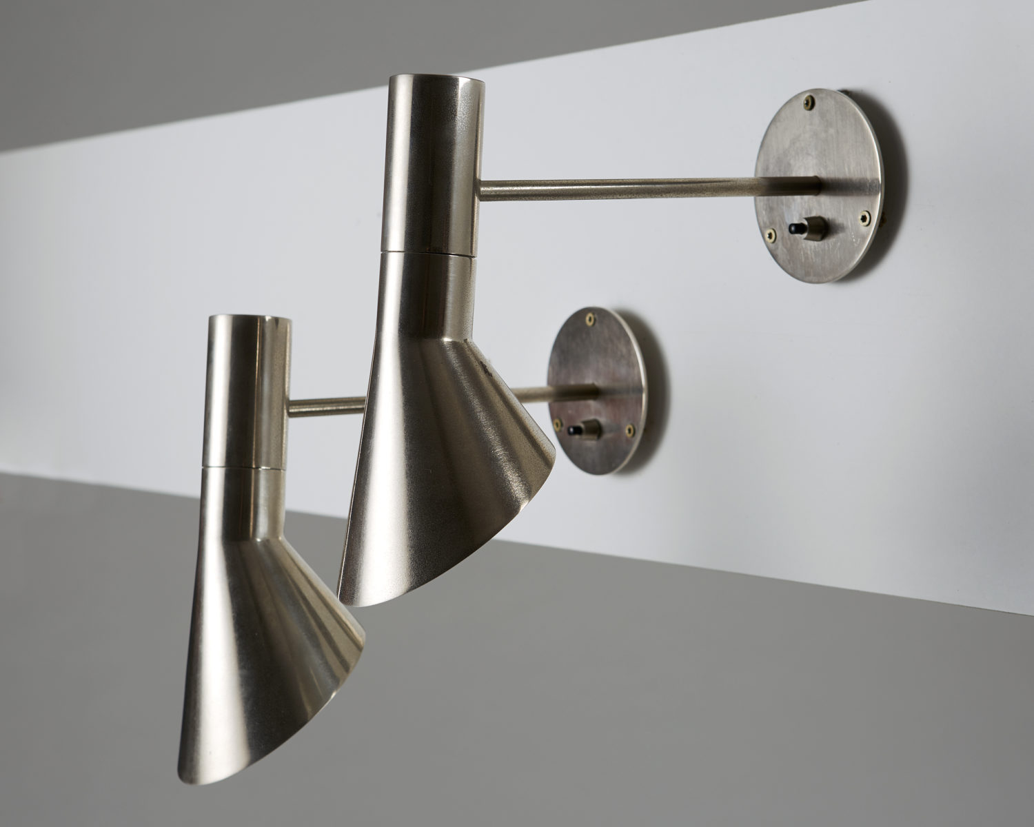 Arne Jacobsen Wall Sconce Pair Of Wall Lamps Designed By Arne Jacobsen For Louis Poulsen