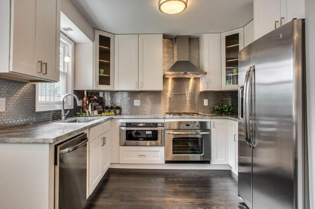 versatility stainless steel backsplashes modernize stainless steel xjpgrendhgtvcomjpeg kitchen backsplash stainless steel