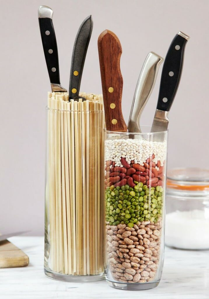 Kitchen Drawer Knife Organizer 6 Sharp Ideas For Kitchen Knife Storage - Modernize