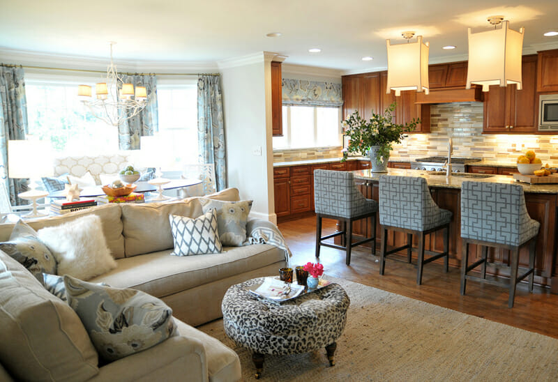 Open Concept Kitchen and Living Room Décor - Modernize - open concept living room
