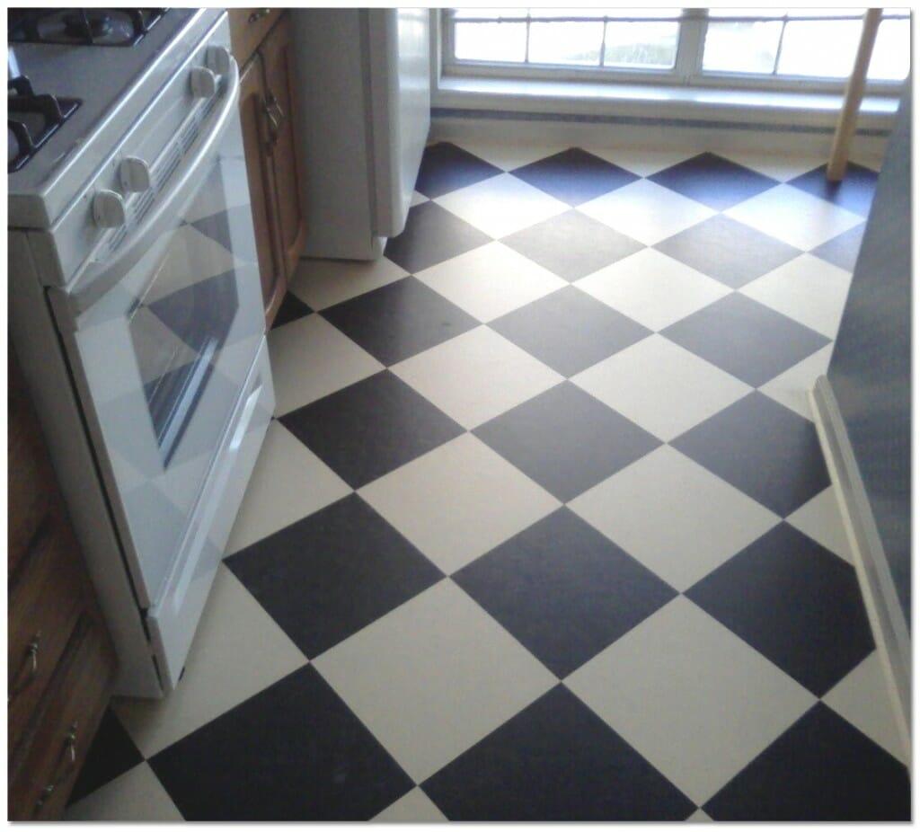 linoleum vs vinyl vinyl kitchen flooring Vinyl Modernize