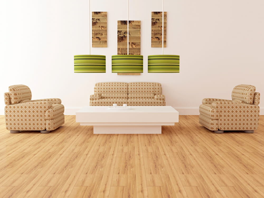 Eco-Friendly Wood Flooring The 6 Most Sustainable Choices - Modernize - living room with wood floors
