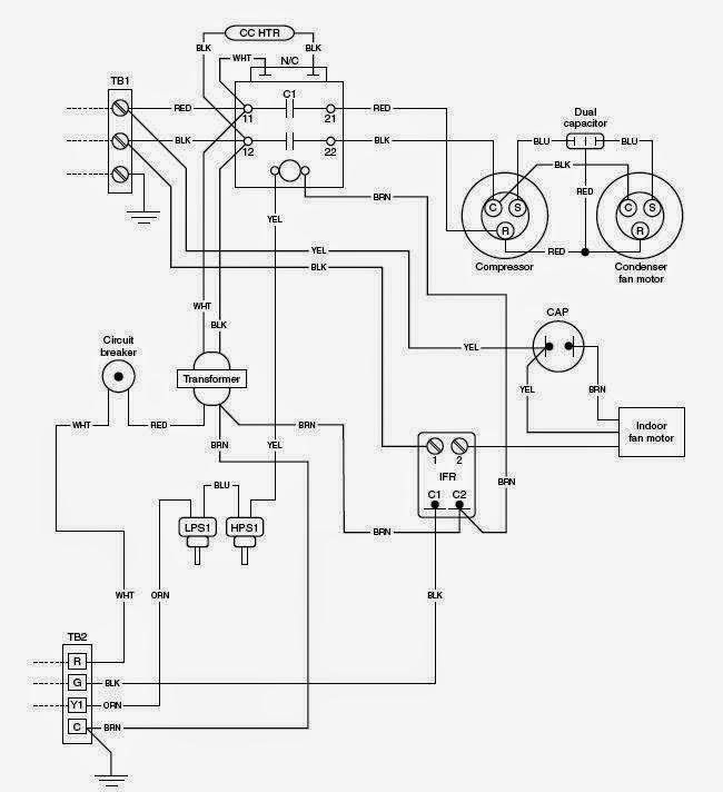 Hvac Schematic Diagram Wiring Diagram