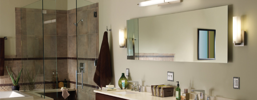bathroom lighting design ideas double light sconces in brushed of 5