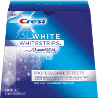 Crest 3D White Professional Effects Whitestrips Review